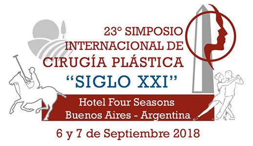 """23° SIMPOSIO INTERNACIONAL DE CIRUGÍA PLÁSTICA """"SIGLO XXI»"""