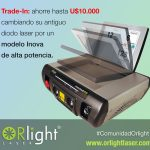 Trade In Orlight equipos laser usados