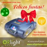 Orlight Laser Felices Fiestas 2018