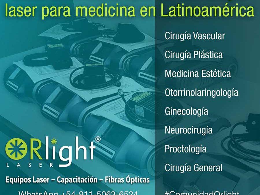 Orlight Laser estará en Asunción, Paraguay el 1 y 2 de abril